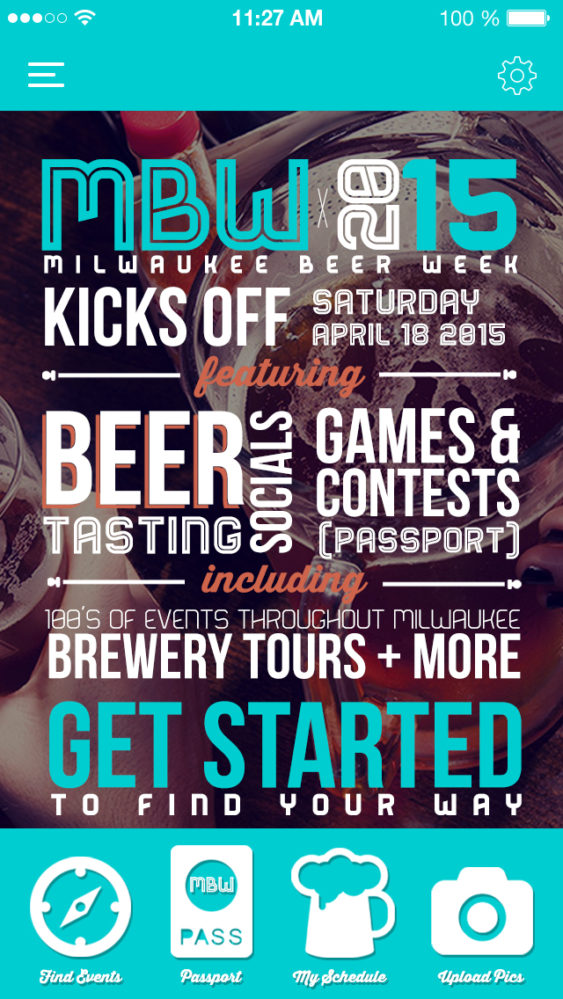 Milwaukee Beer Week Design by Concept Envy Advertising